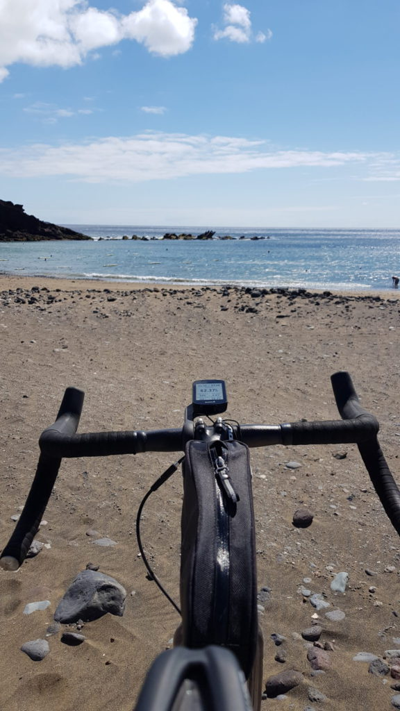 Gravel bike sur Gran Canaria