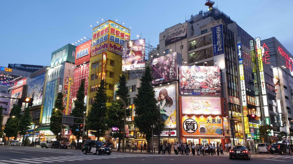 Akihabara, what to see in Tokyo