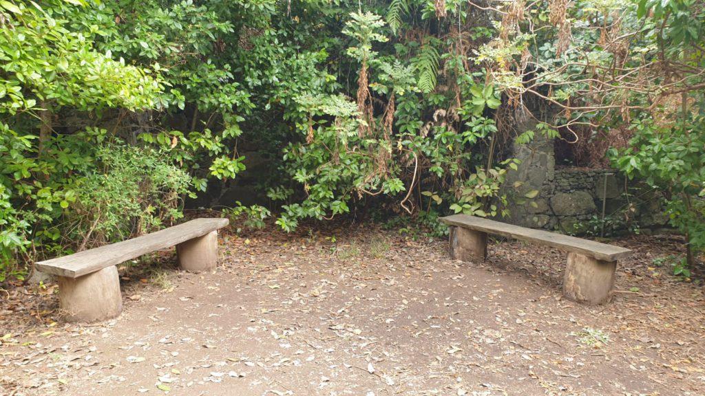 Benches in Tilos de Moya hike