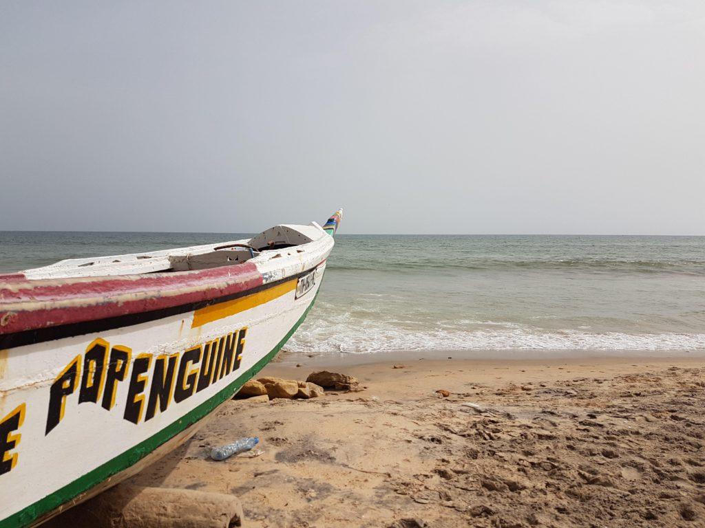 Senegalese fishing boat, Popenguine