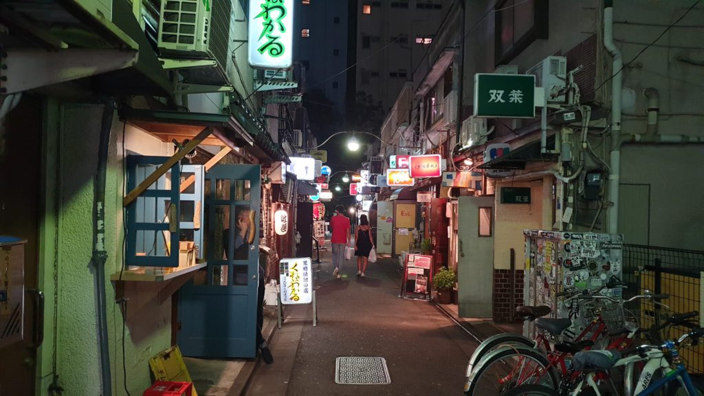 Small bars in Golden Gai, Shinjuku