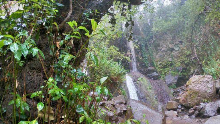cascadas en el barranco de los cernícalos