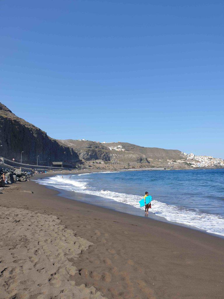 Bodyboard en Playa de La Laja