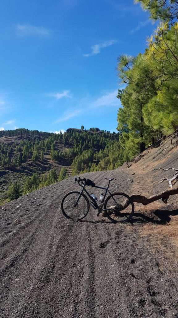 Mountain bike trails in Gran Canaria