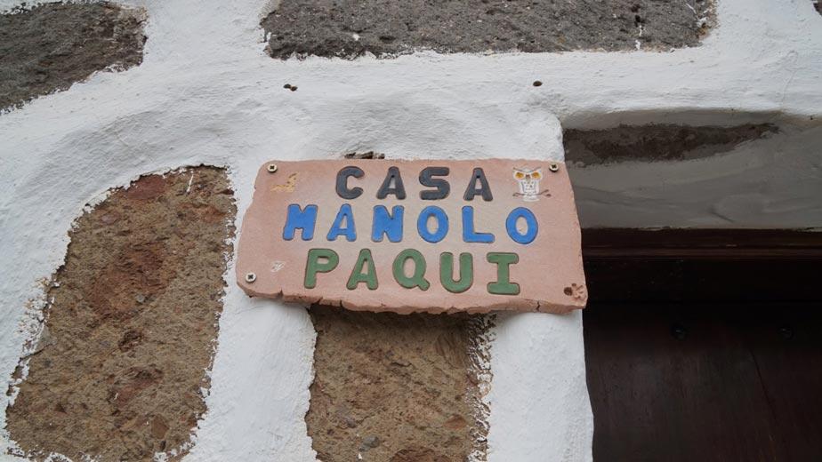 Casa Manolo y Paqui, Fataga