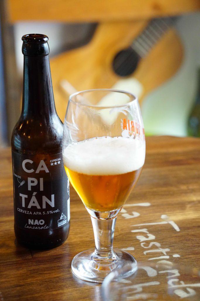 Cerveza Capitán de Lanzarote, La trastienda de Chago