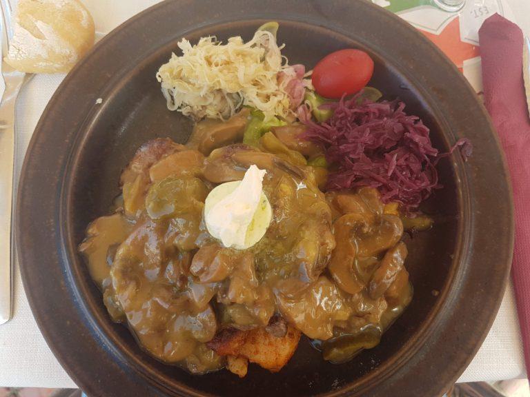 Coeur de Filet Caterina, especialidad restaurante Balalaika