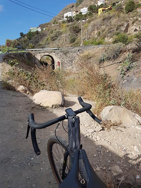 Rutas para bici de montaña en Las Palmas de GC, barranco de Guiniguada