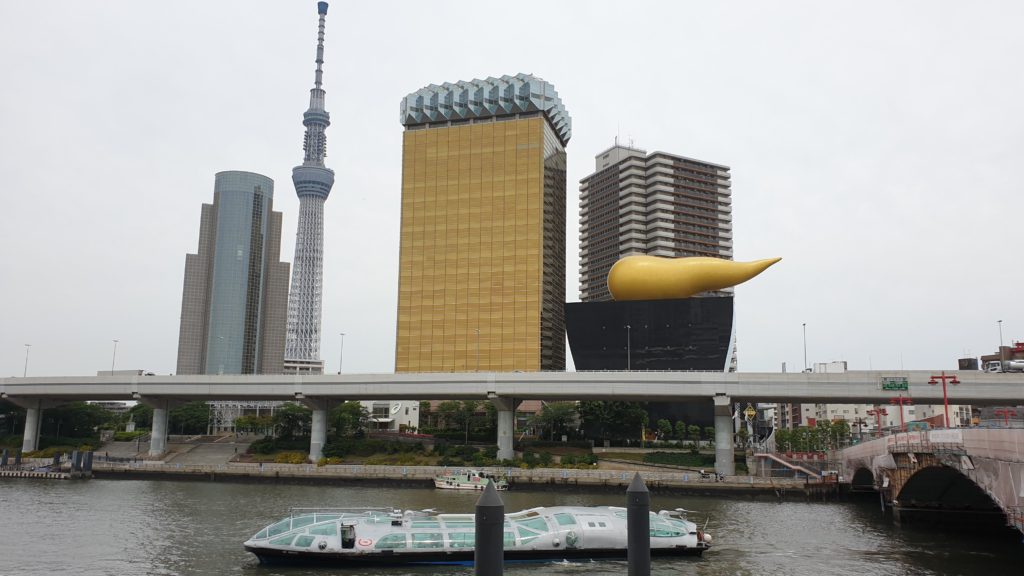 Himiko boat through Sumida river, things to do in Tokyo