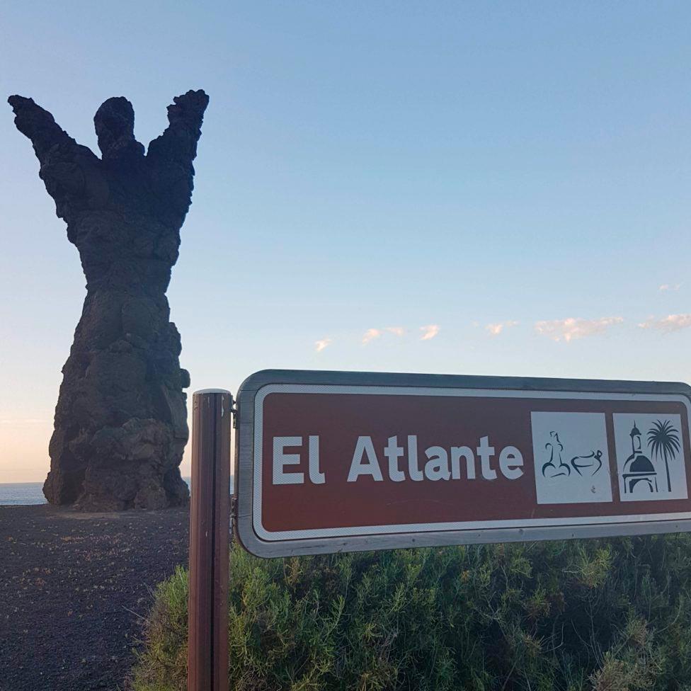 El Atlante viewpoint, places to run in Las Palmas