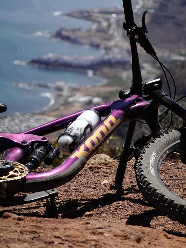 Kona bike in Gran Canaria