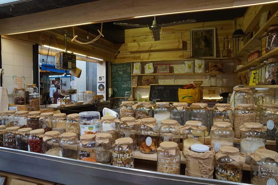 Especias en mercado de Vegueta
