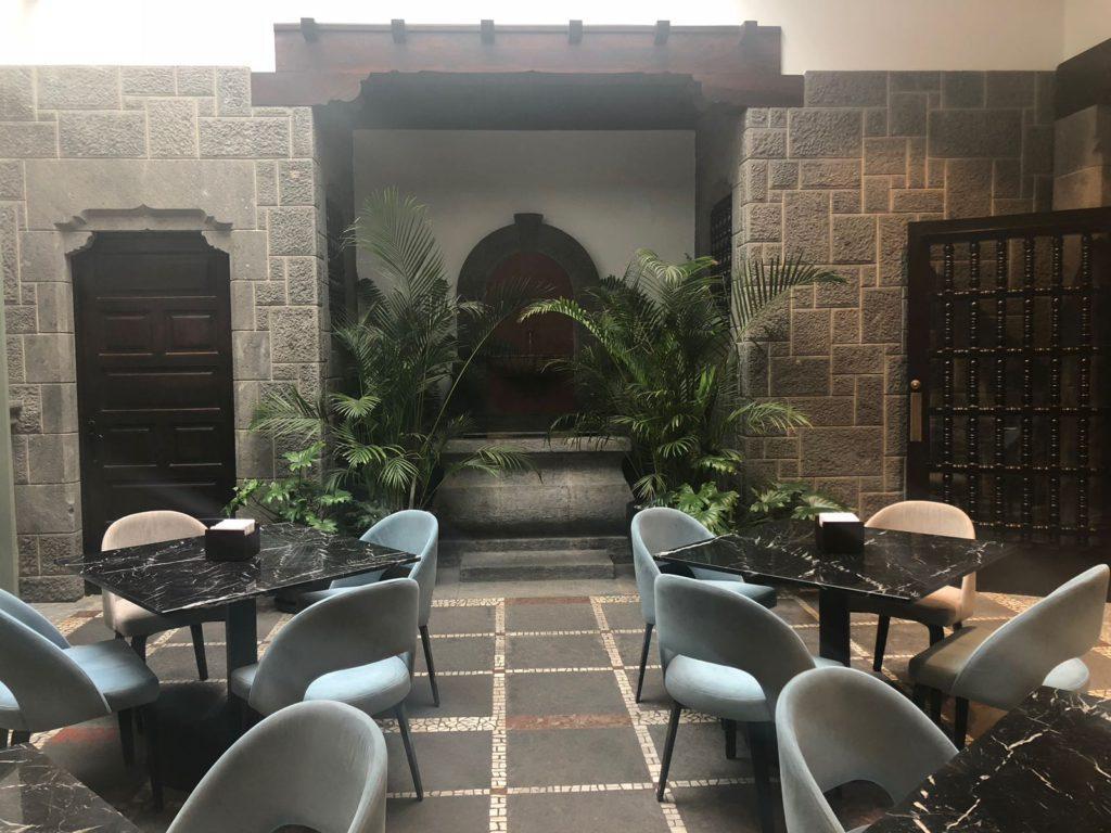 Interior 1478 restaurant, hotel Suites 1478