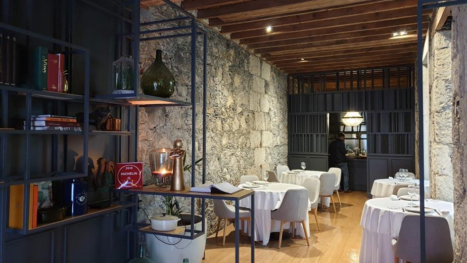 Interior restaurante Deliciosa Marta