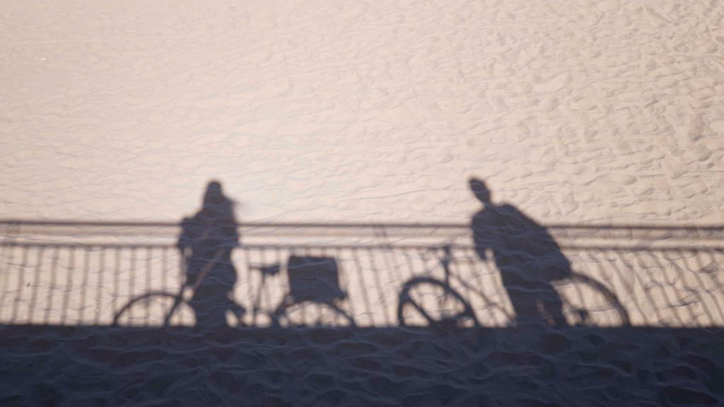 sombras bicicleta