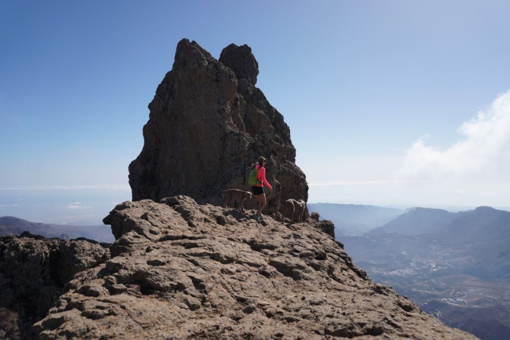 Morro de La Agujereada, highest peak of Gran Canaria