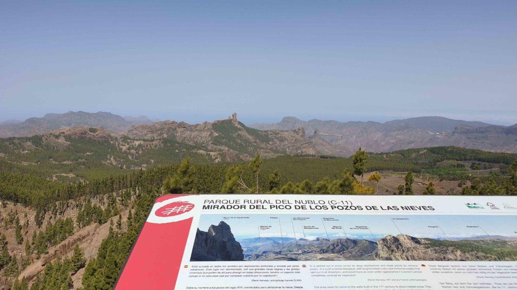 Morro de La Agujereada pico más alto de Gran Canaria