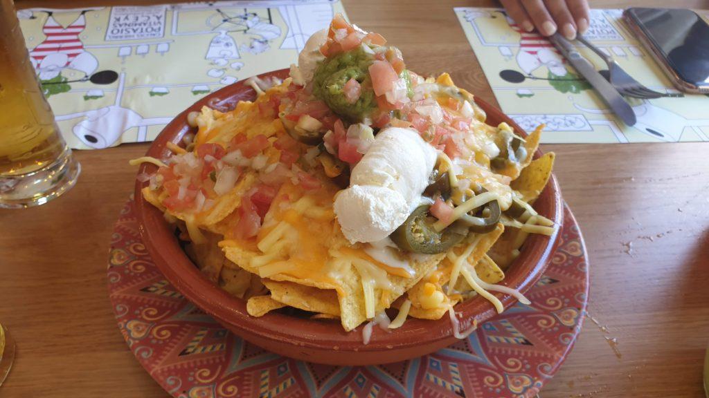 Organic nachos