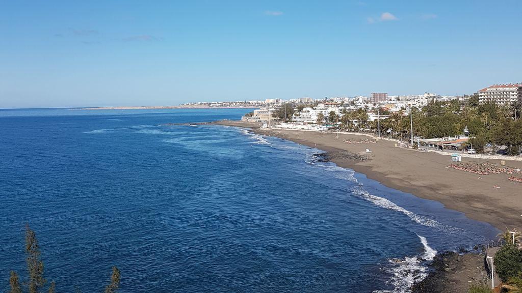 Panorámica Playa de San Agustín