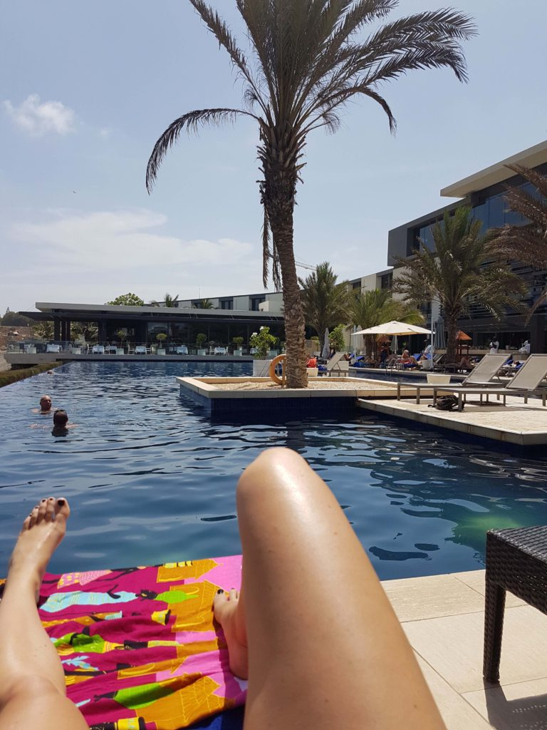 Radisson Blu Dakar pool