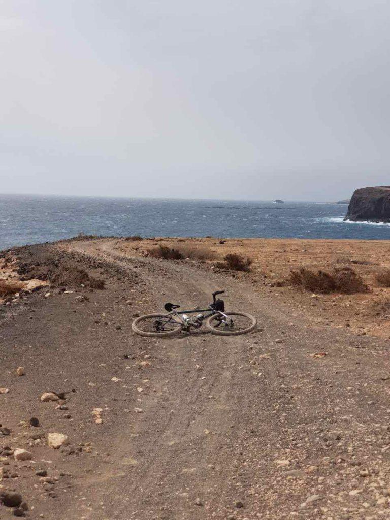 Ruta en bici desde Telde hasta Valsequillo, pistas de tierra