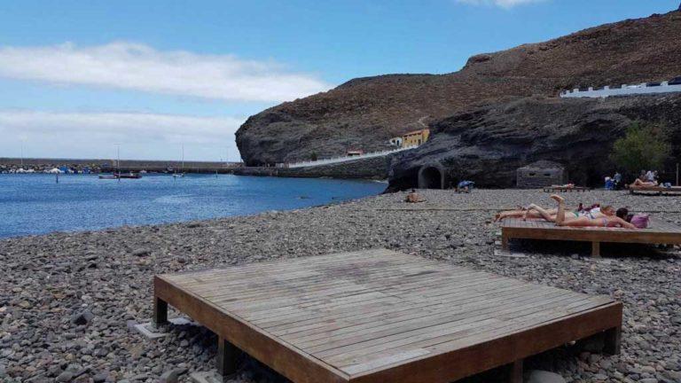 playa de la aldea