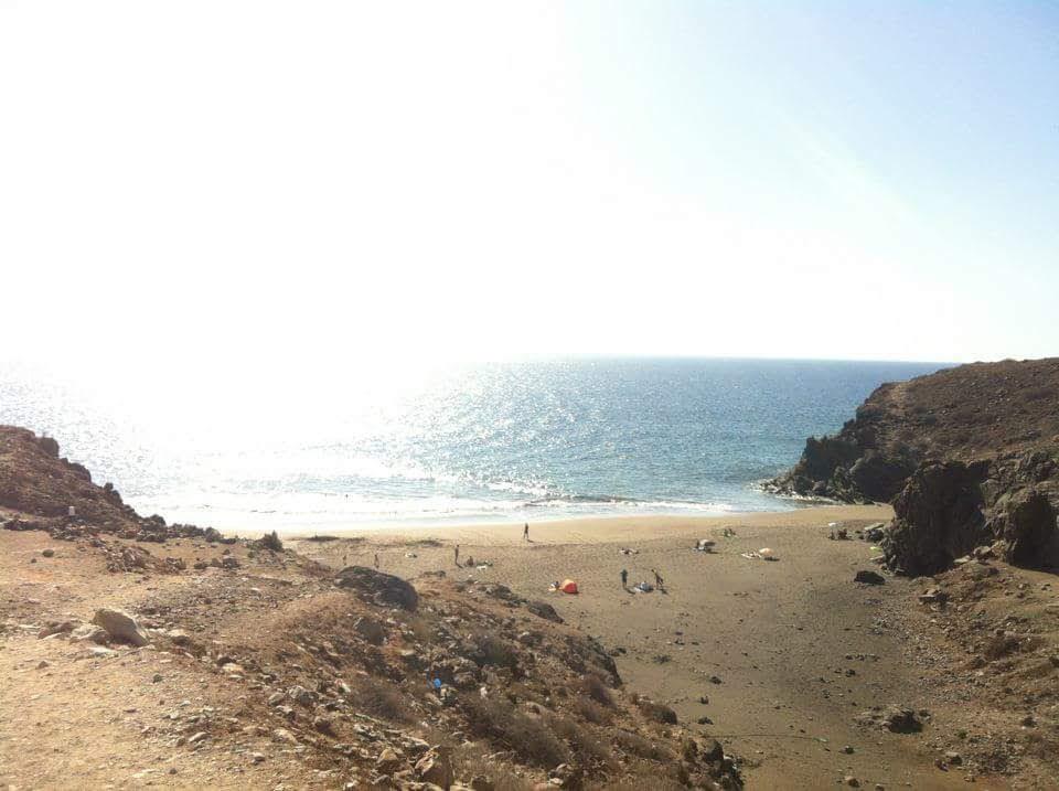 Las Mujeres beach