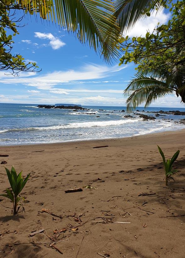 Playa junto a estacion san pedrillo
