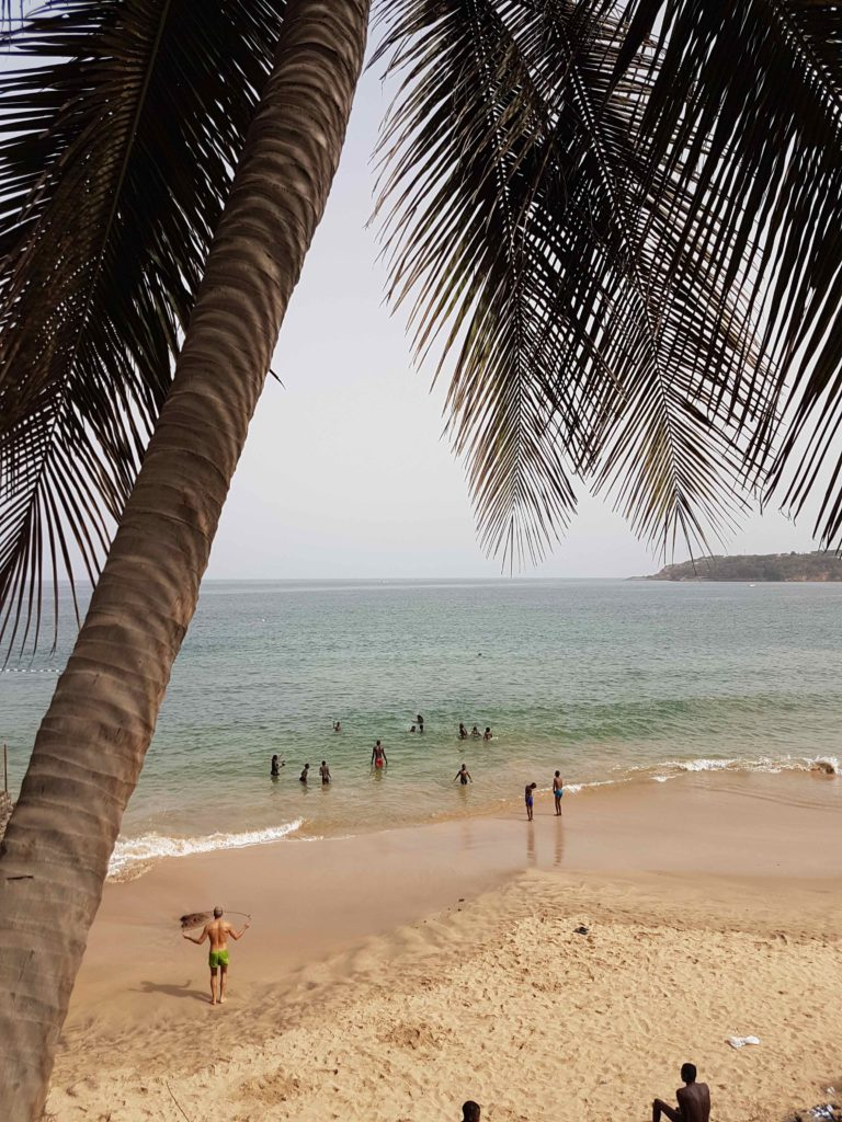 Beach nearby Lagon 1, Dakar. Places to visit in Senegal