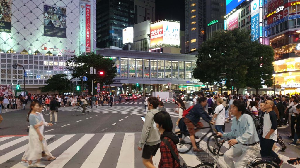 Places to visit in Tokyo in 4 days, Shibuya crossing