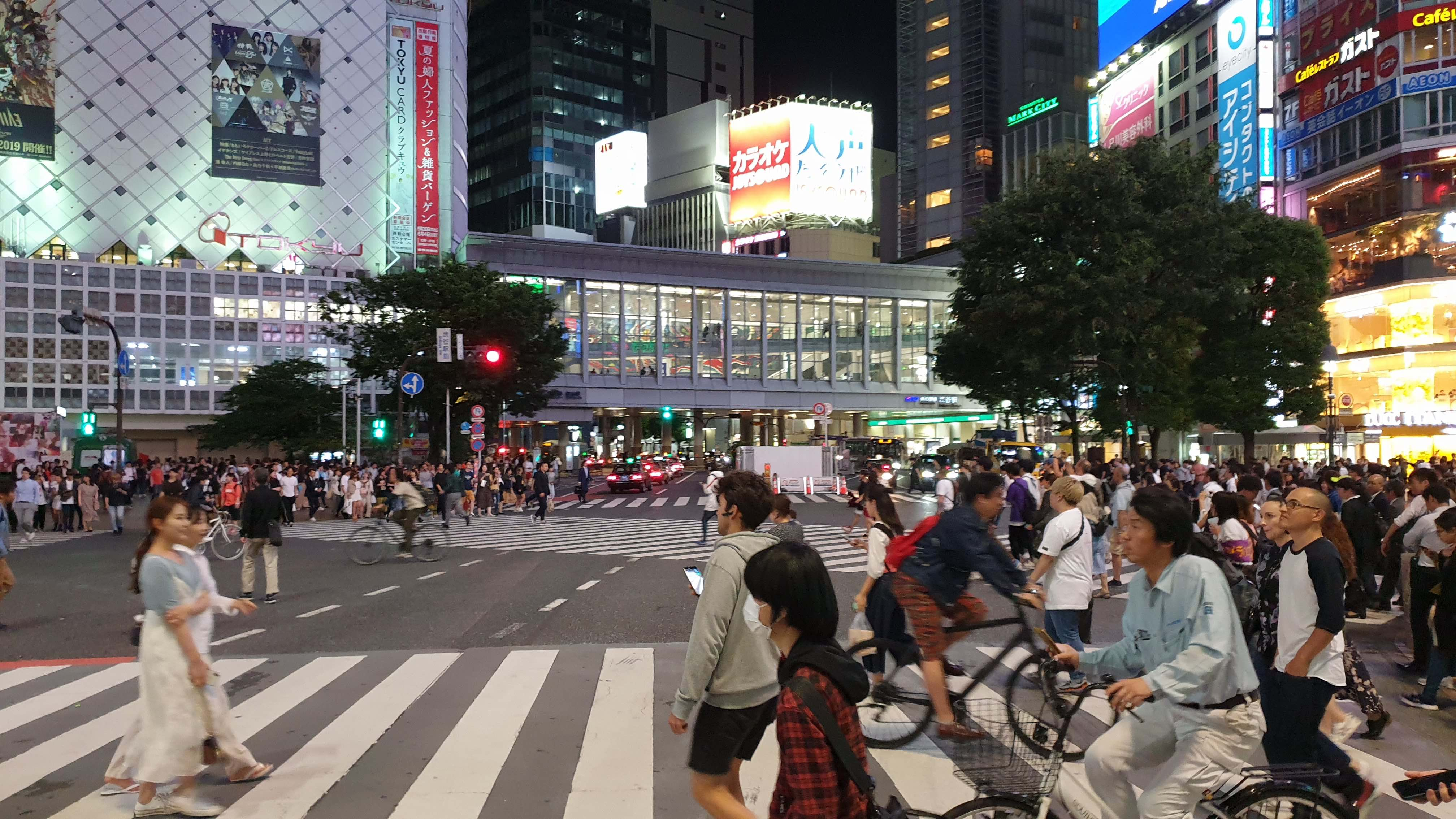 Qué ver en Tokio en 4 días, cruce de Shibuya