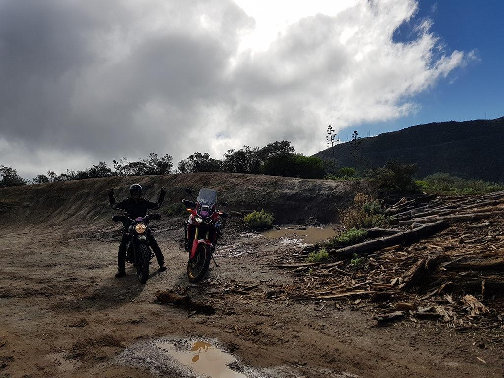 Rallye tt Viejas Glorias 2018 - Subida de las haciendas