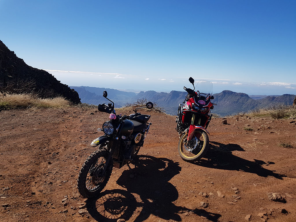 Rallye tt viejas glorias - Mirador al Risco Blanco