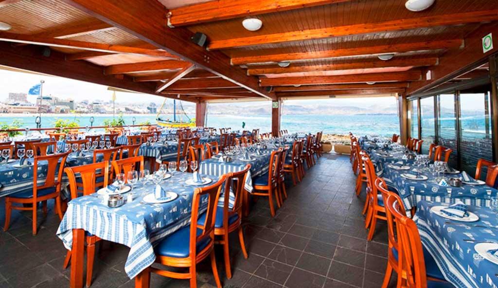 restaurantes con terraza en las palmas, la marinera