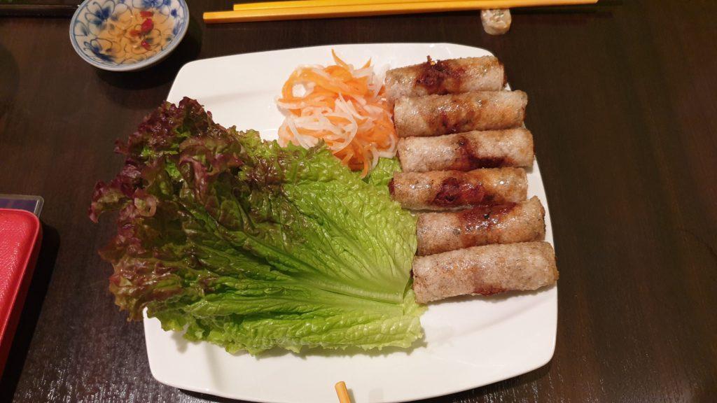 Vietnamese restaurant in Korean neighborhood, Shin-Okubo