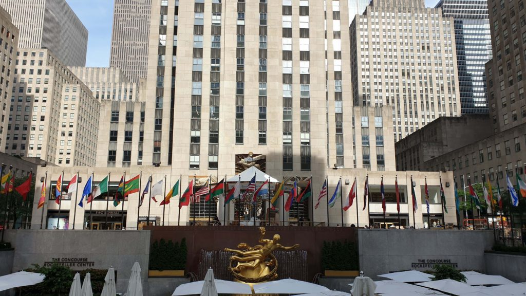 Rockefeller Center, places to visit in New York in 4 days