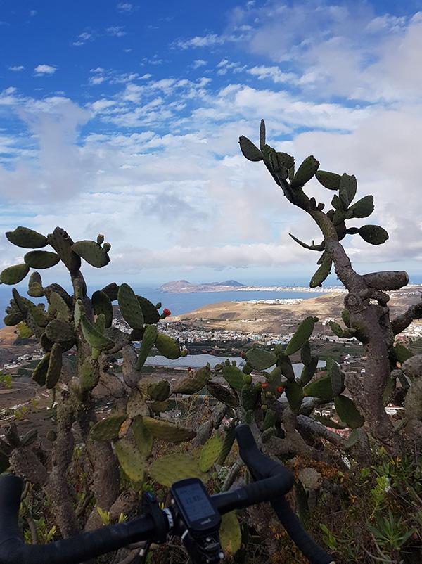 Mirador de Arucas con vistas a Las Canteras