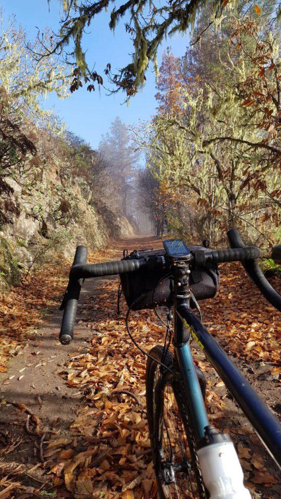 Gravel biking Artenara