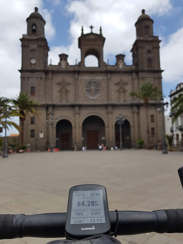 Rutas para bici de montaña en Las Palmas de Gran Canaria, salida desde Vegueta