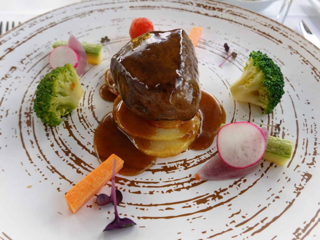 Beef tenderloin with Agaete coffee sauce