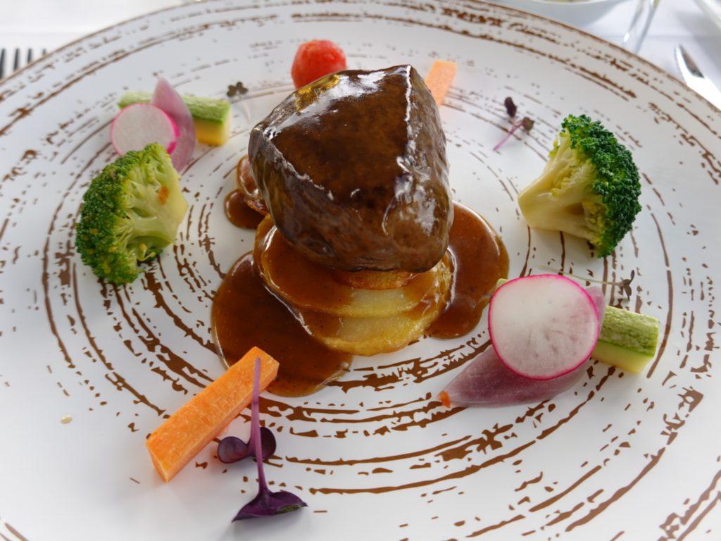 Tenderloin beef with Agaete coffee sauce