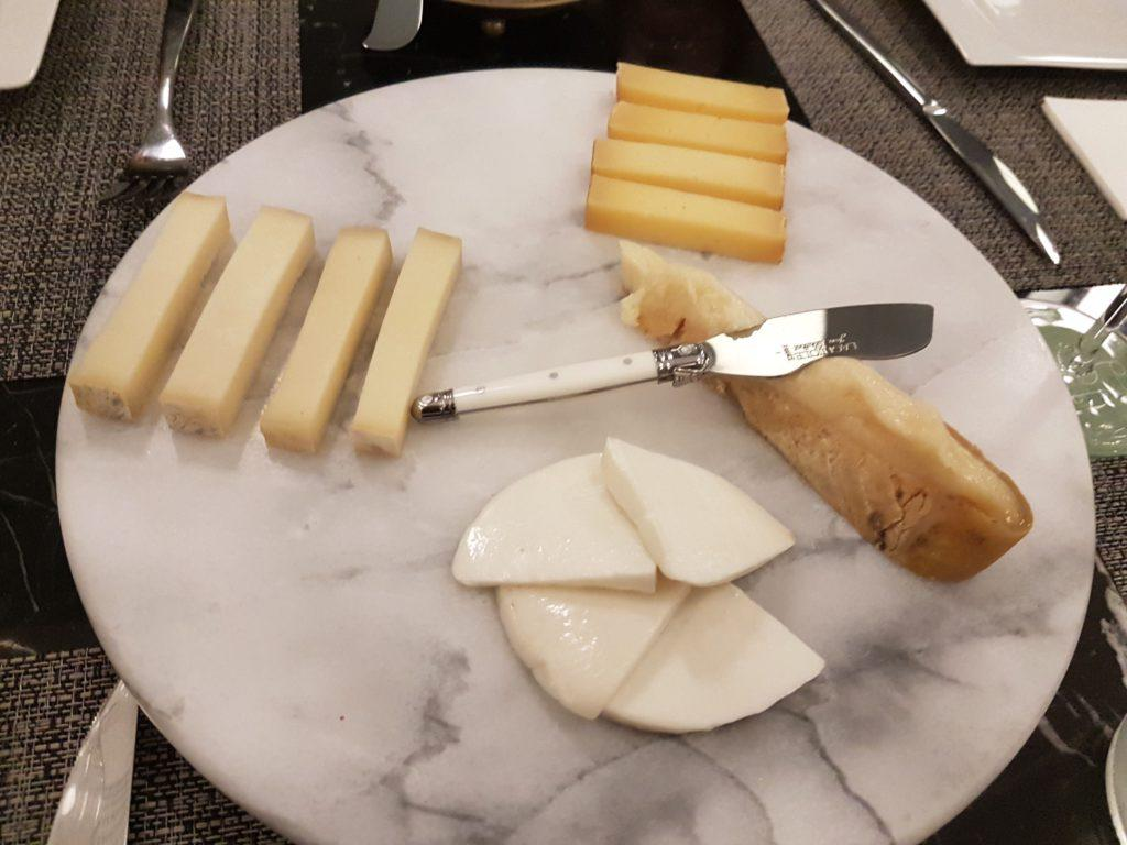 Canarian cheese assortment