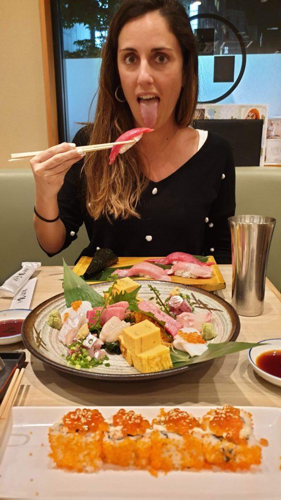 Sushi et Umegoaka Sushino Midori Ginza