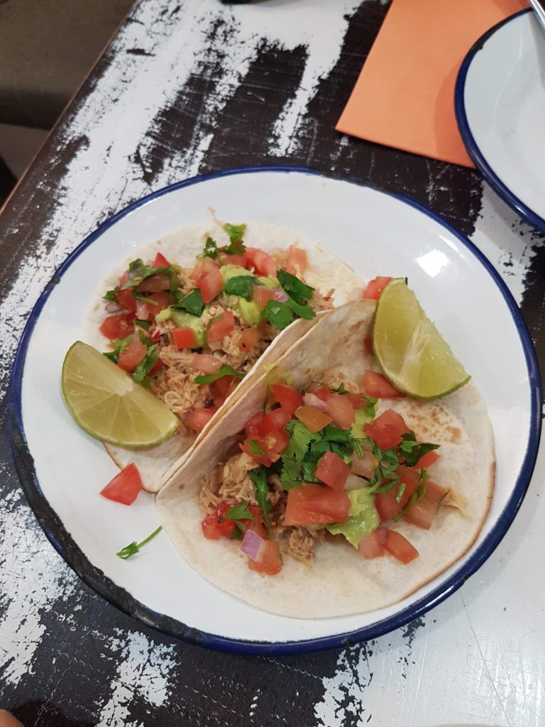 Tacos de pollo