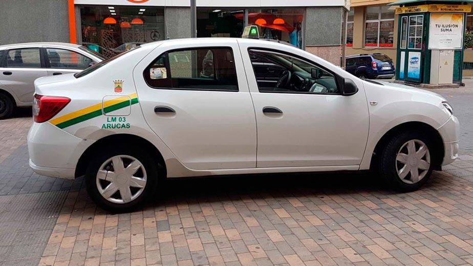 taxi arucas