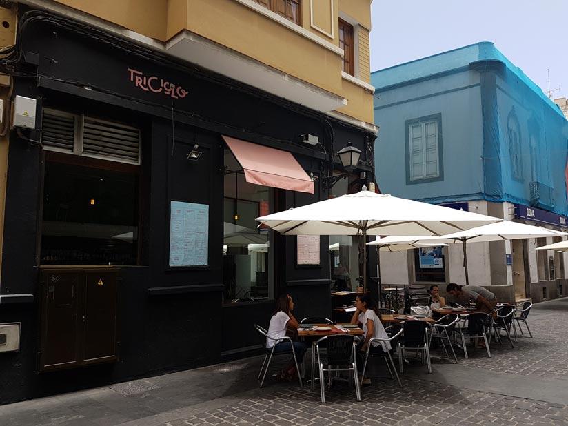 Terraza restaurante Triciclo