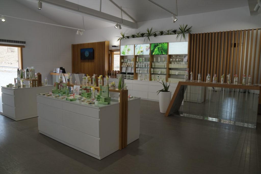Aloe Vera natural products shop