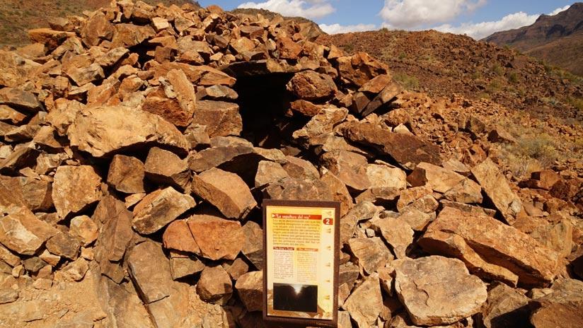 Túmulo denominado La Sepultura del Rey