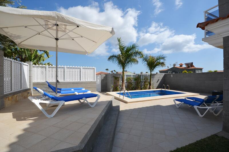 Private pool Villa Lovisi, villas in Gran Canaria pet friendly