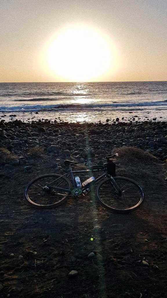 ruta costera en bici gran canaria